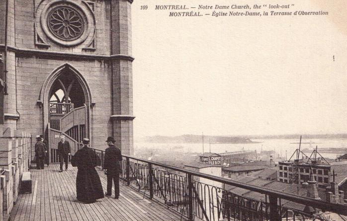 Terrasse d'observation, Église Notre-Dame / Notre Dame Church Lookout
