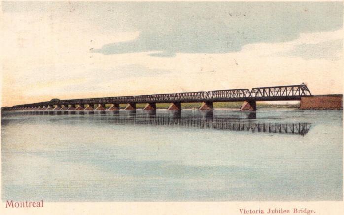 Pont Victoria Jubilee / Victoria Jubilee Bridge