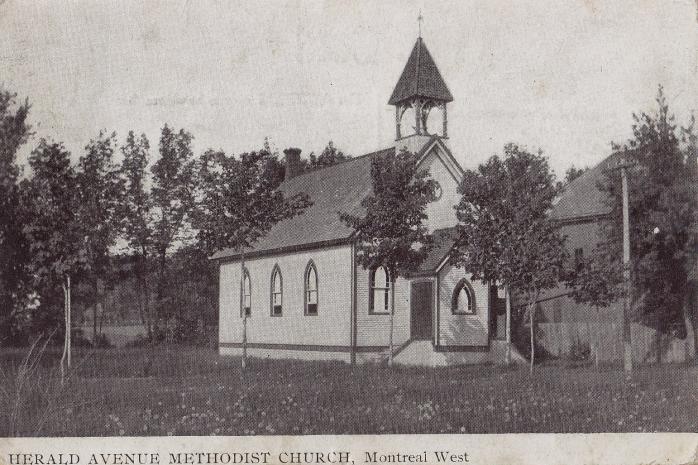 Église méthodiste Herald Avenue, Montreal West, vers 1905 / Herald Avenue Methodist Church, Montreal West, c.1905