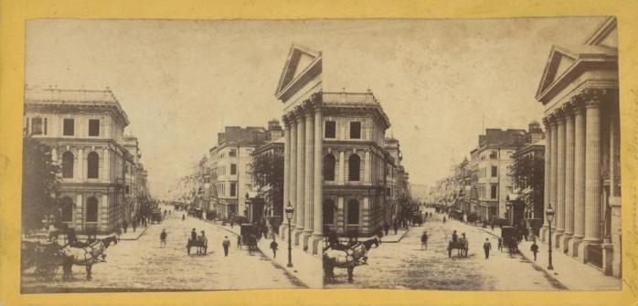 Image stéreoscopique, vers 1860. / Stereoscopic image, c.1860.
