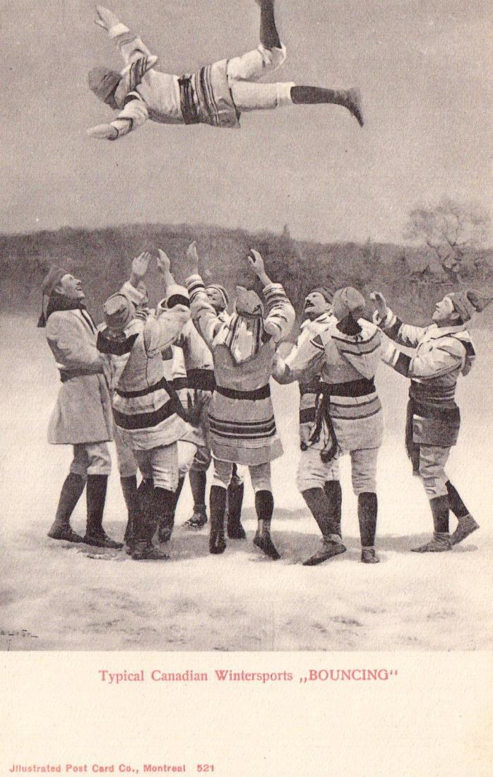 """""""Typical Canadian Winter Sports - Bouncing"""""""