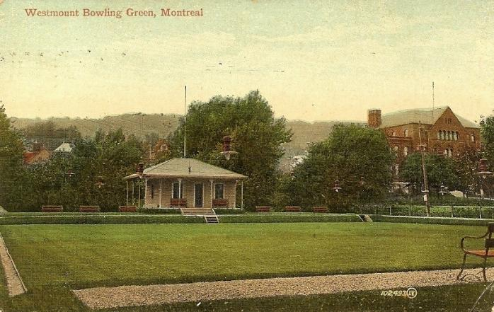 Terrain de boules de Westmount, vers 1908 / Westmount Bowling Green, c.1908