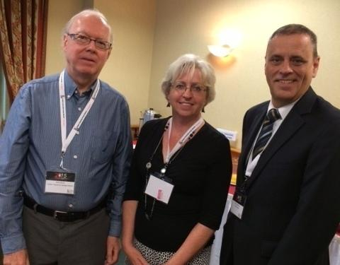 QAHN Board members Rick Smith and Carol Meindl, seen here with the QCGN's Dan Lamoureux, attended the 2015 QCGN AGM in Montreal last week. (Photo - courtesy)