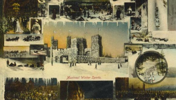 Carte postale datant du début des années 1900. / Postcard, early 1900s. Illustrated Post Card Company.