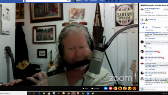 David Gossage and his fabulous flute!