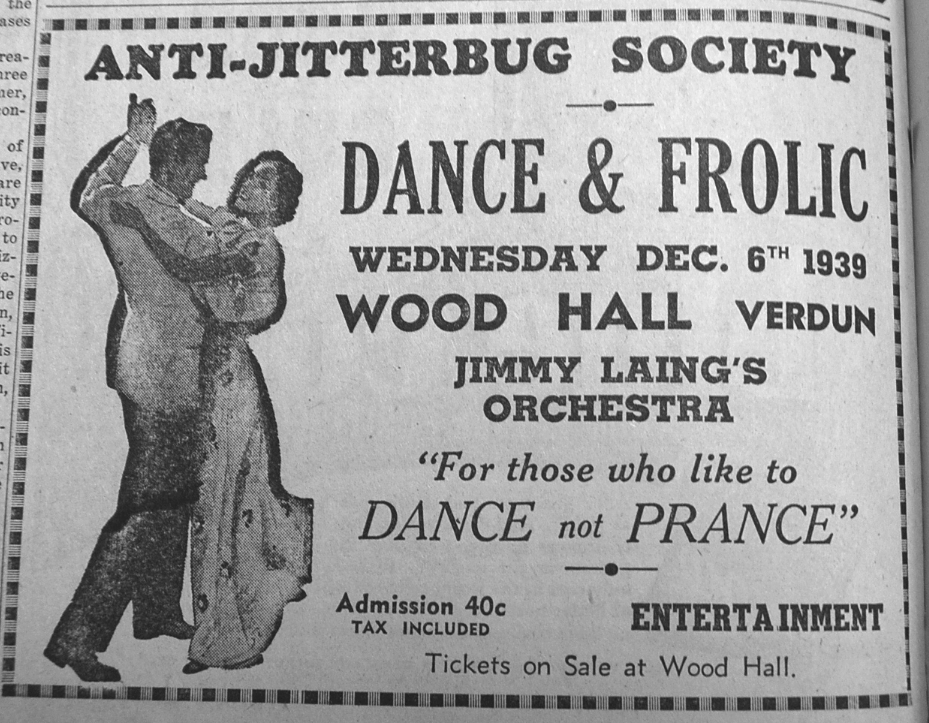 Antijitterbug Dance Ad Nov on Jitterbug Steps Beginners